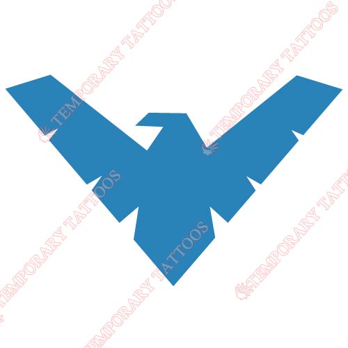 Nightwing Customize Temporary Tattoos Stickers NO.413