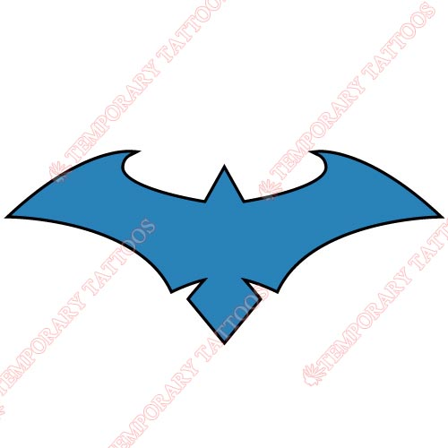 Nightwing Customize Temporary Tattoos Stickers NO.414
