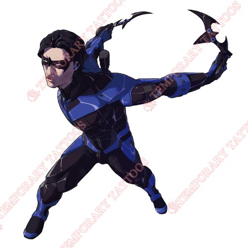Nightwing Customize Temporary Tattoos Stickers NO.418