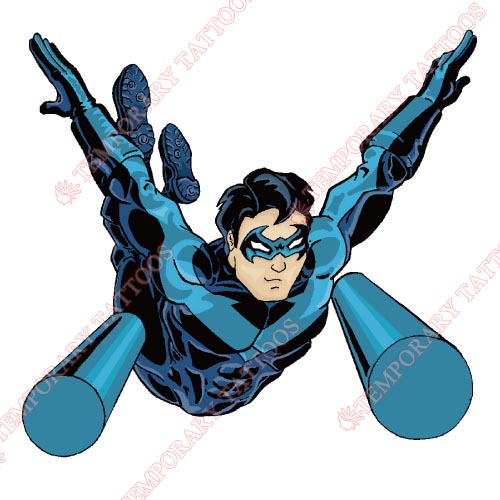 Nightwing Customize Temporary Tattoos Stickers NO.419