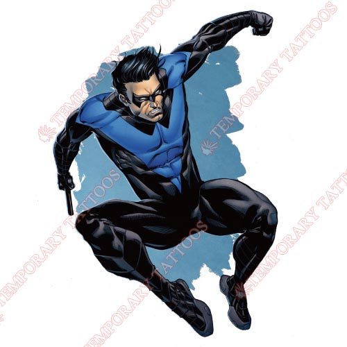 Nightwing Customize Temporary Tattoos Stickers NO.420