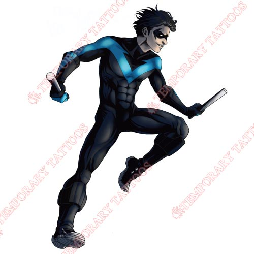 Nightwing Customize Temporary Tattoos Stickers NO.422