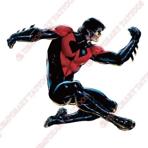 Nightwing Customize Temporary Tattoos Stickers NO.426