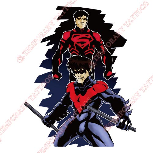 Nightwing Customize Temporary Tattoos Stickers NO.429