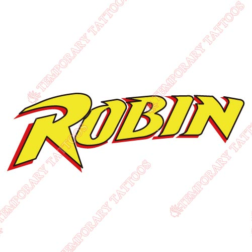 Robin Customize Temporary Tattoos Stickers NO.5833