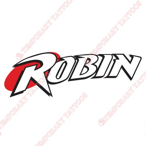 Robin Customize Temporary Tattoos Stickers NO.5834
