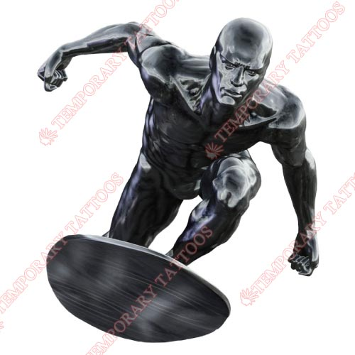 Silver Surfer Customize Temporary Tattoos Stickers NO.495
