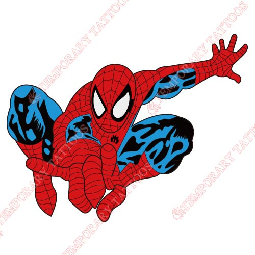 Spiderman Customize Temporary Tattoos Stickers NO.225