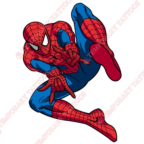 Spiderman Customize Temporary Tattoos Stickers NO.230