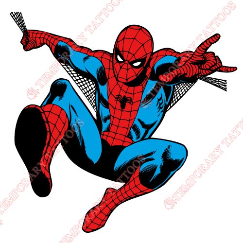 Spiderman Customize Temporary Tattoos Stickers NO.233