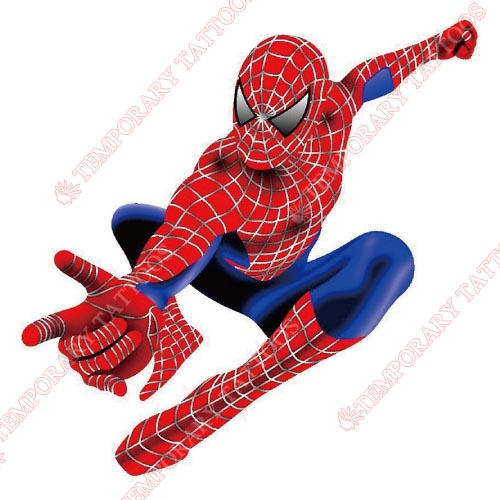 Spiderman Customize Temporary Tattoos Stickers NO.246