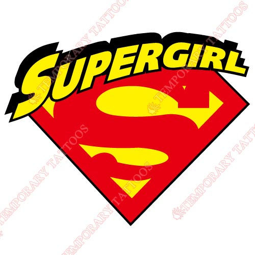 Supergirl Customize Temporary Tattoos Stickers NO.259