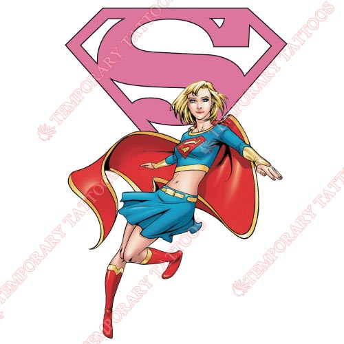 Supergirl Customize Temporary Tattoos Stickers NO.268