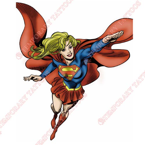 Supergirl Customize Temporary Tattoos Stickers NO.270
