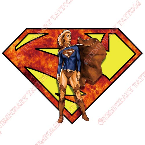 Supergirl Customize Temporary Tattoos Stickers NO.271