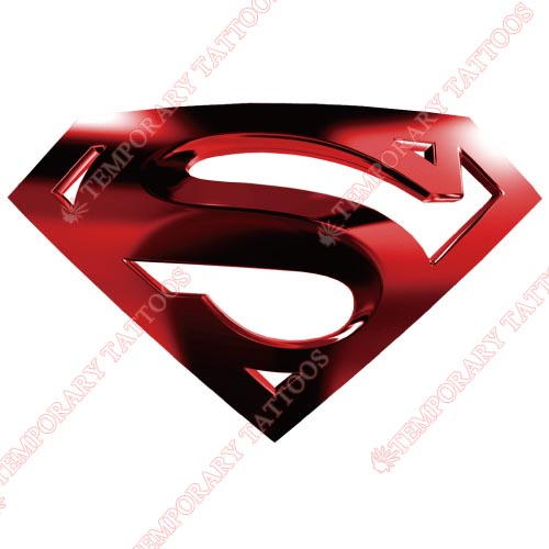 Superman Customize Temporary Tattoos Stickers NO.291
