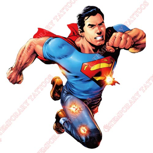 Superman Customize Temporary Tattoos Stickers NO.297