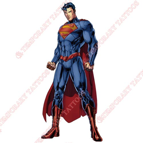 Superman Customize Temporary Tattoos Stickers NO.301