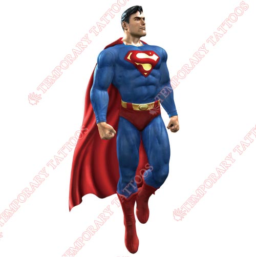 Superman Customize Temporary Tattoos Stickers NO.302