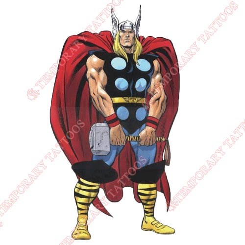 Thor Customize Temporary Tattoos Stickers NO.337