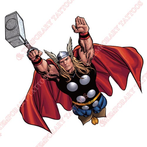 Thor Customize Temporary Tattoos Stickers NO.340