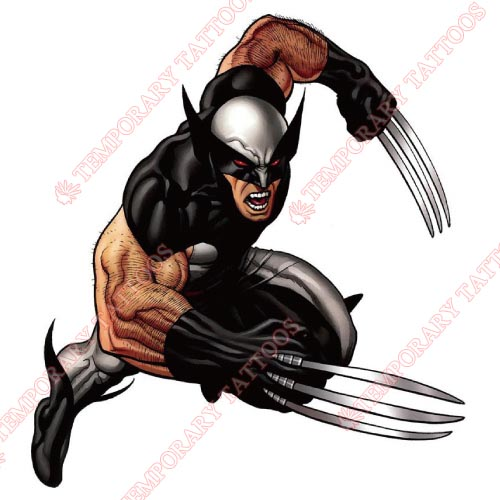 Wolverine Customize Temporary Tattoos Stickers NO.359