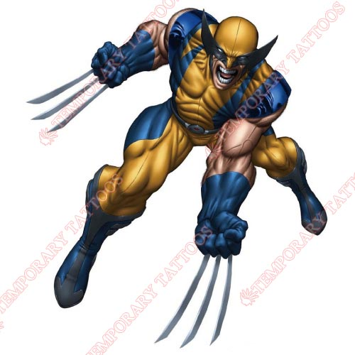 Wolverine Customize Temporary Tattoos Stickers NO.361