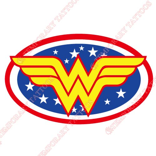 Wonder Woman Customize Temporary Tattoos Stickers NO.363