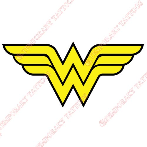 Wonder Woman Customize Temporary Tattoos Stickers NO.364
