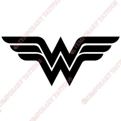 Wonder Woman Customize Temporary Tattoos Stickers NO.365