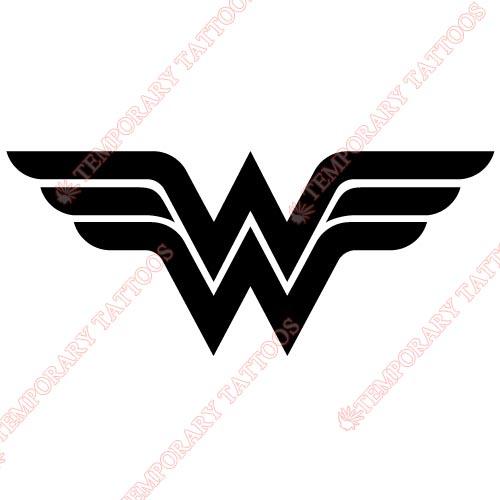 Wonder woman temp tattoos customize temporary tattoos for Wonder woman temporary tattoo