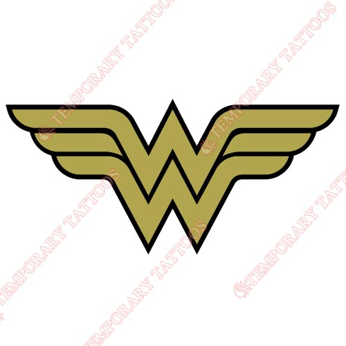 Wonder Woman Customize Temporary Tattoos Stickers NO.366