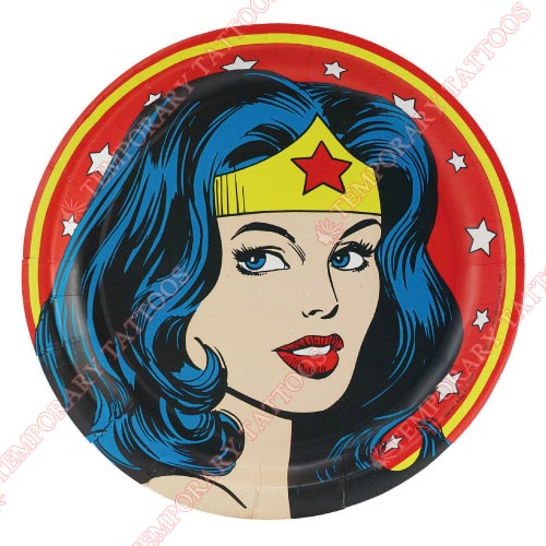 Wonder Woman Customize Temporary Tattoos Stickers NO.367