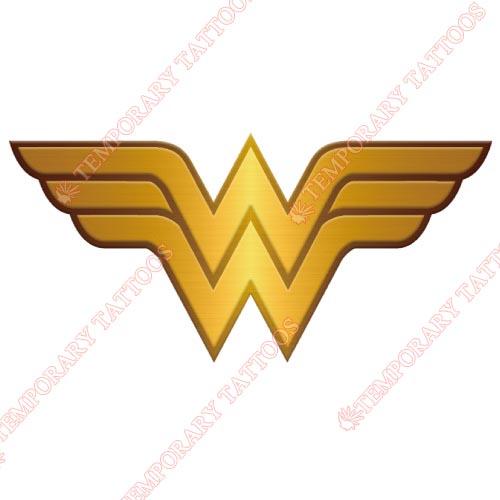 Wonder Woman Customize Temporary Tattoos Stickers NO.368